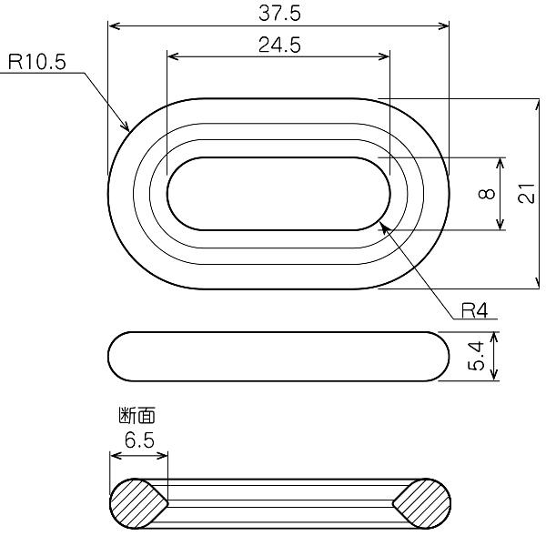 プラスチックチェーン L1500 サイズ