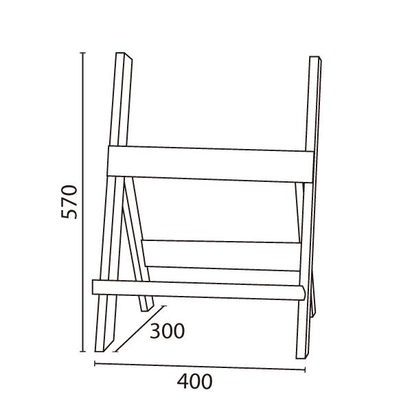 木製 インフォイーゼル